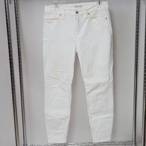 Madewell High Riser Skinny Jeans 30x27